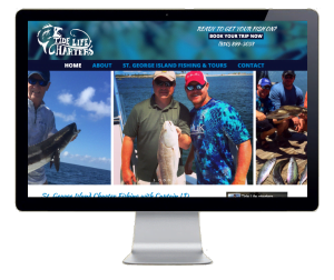 Tide Life Charters Website