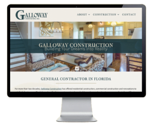 Galloway Construction St. George Island